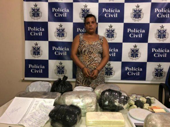 Suspeita de traficar em Coaraci é presa 4