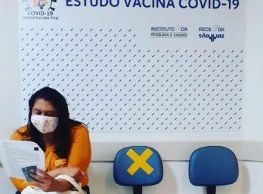 Candidata a vice-prefeita em Ilhéus é voluntária em teste da vacina de  Oxford - Ilhéus Net