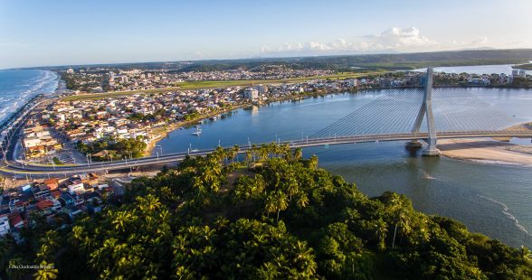 Vista da ponte Jorge Amado em Ilhéus Foto Clodoaldo Ribeiro
