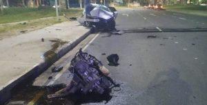 Grave acidente com vítima fatal na Av. Soares Lopes