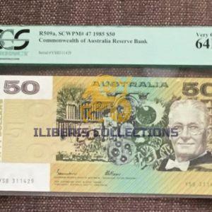 Australia 50 Dollars R509a