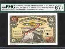 Gibraltar 5 Pounds Specimen