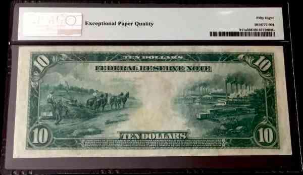 USA 10 Dollars 1914-2