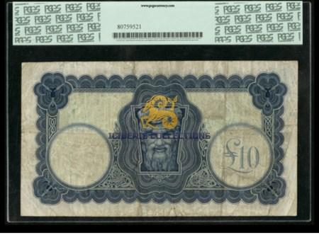 Ireland 10 Pounds 1928