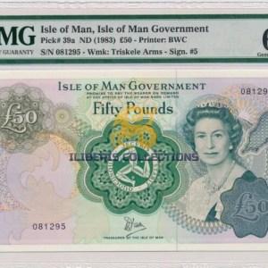 Isle of Man 50 Pounds 1983
