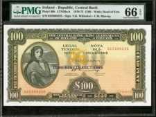Ireland 100 Pounds 1975