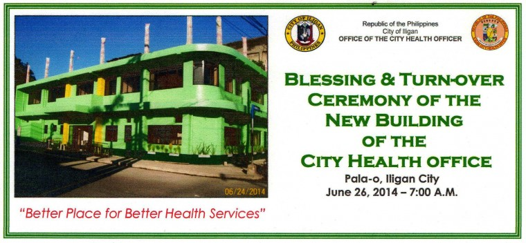 June 262014  Blessing and Turnover Ceremony of the New