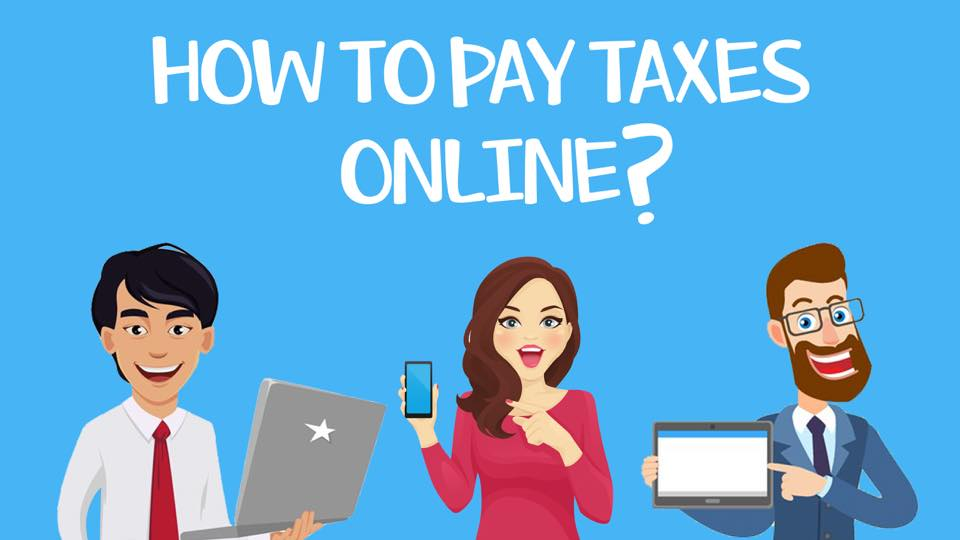 how to pay bir taxes online