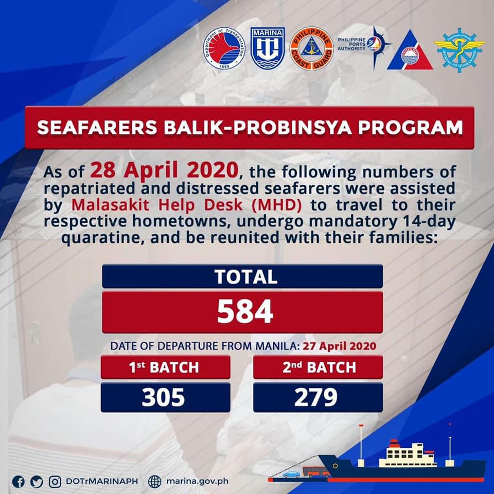 Seafarers Balik-Probinsya Program