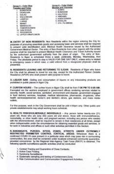 Executive Order (EO) No. 98 (3)