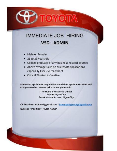 TOYOTA hiring (2)