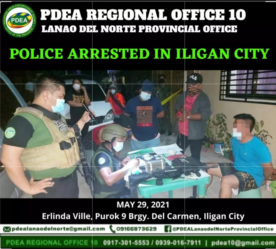 POLICE ARRESTED IN ILIGAN CITY