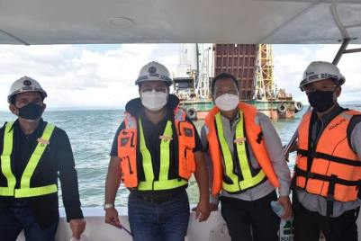 DPWH Works on Foundation of Panguil Bay Bridge (10)