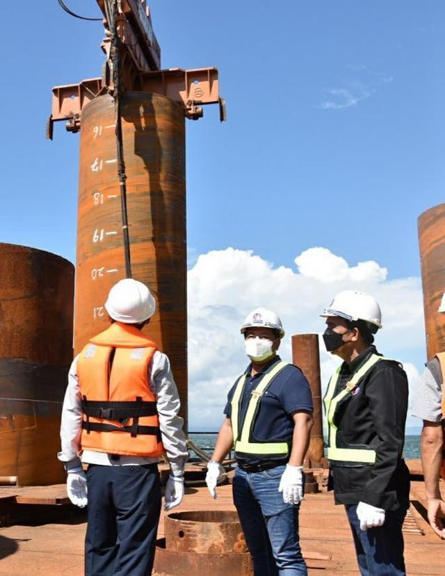 DPWH Works on Foundation of Panguil Bay Bridge (13)
