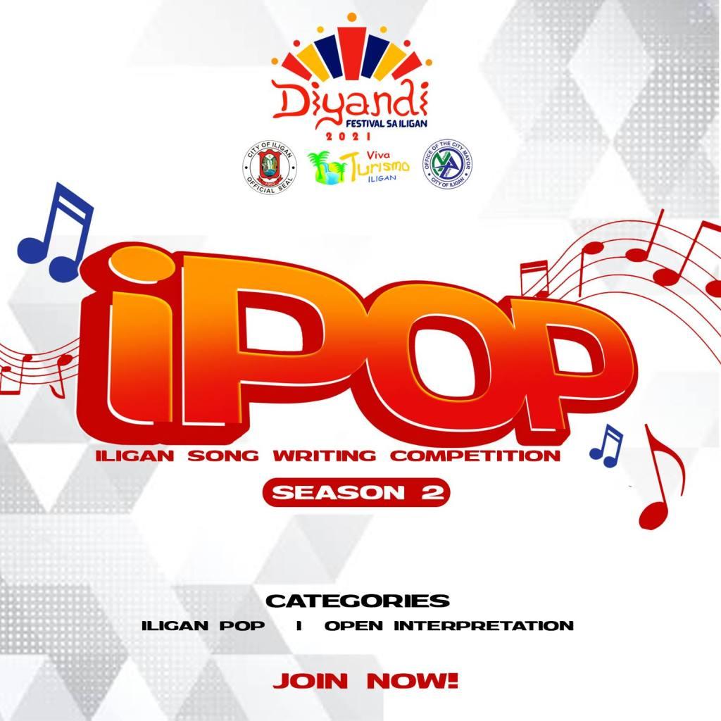 IPOP 2021 Iligan Songwriting Competition Season 2