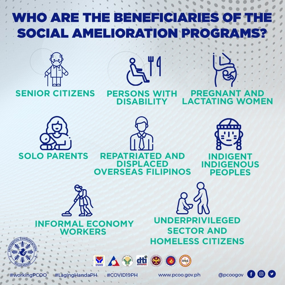 Who Are the Beneficiaries of the Social Amelioration Program