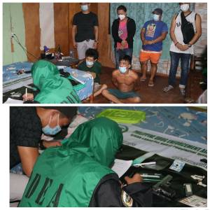 Known Drug Personality Arrested in Iligan City Drugs and Firearms Seized