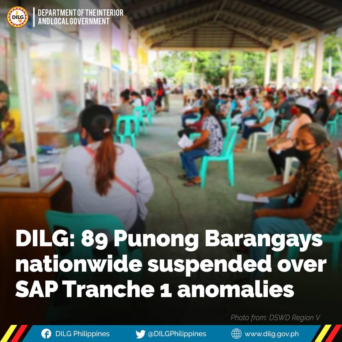 punong barangays suspened