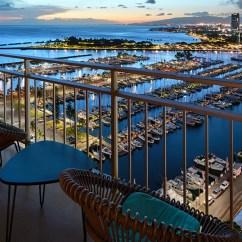 Tiled Kitchen Countertops Clocks Waikiki Suites   Ilikai Hotel & Luxury