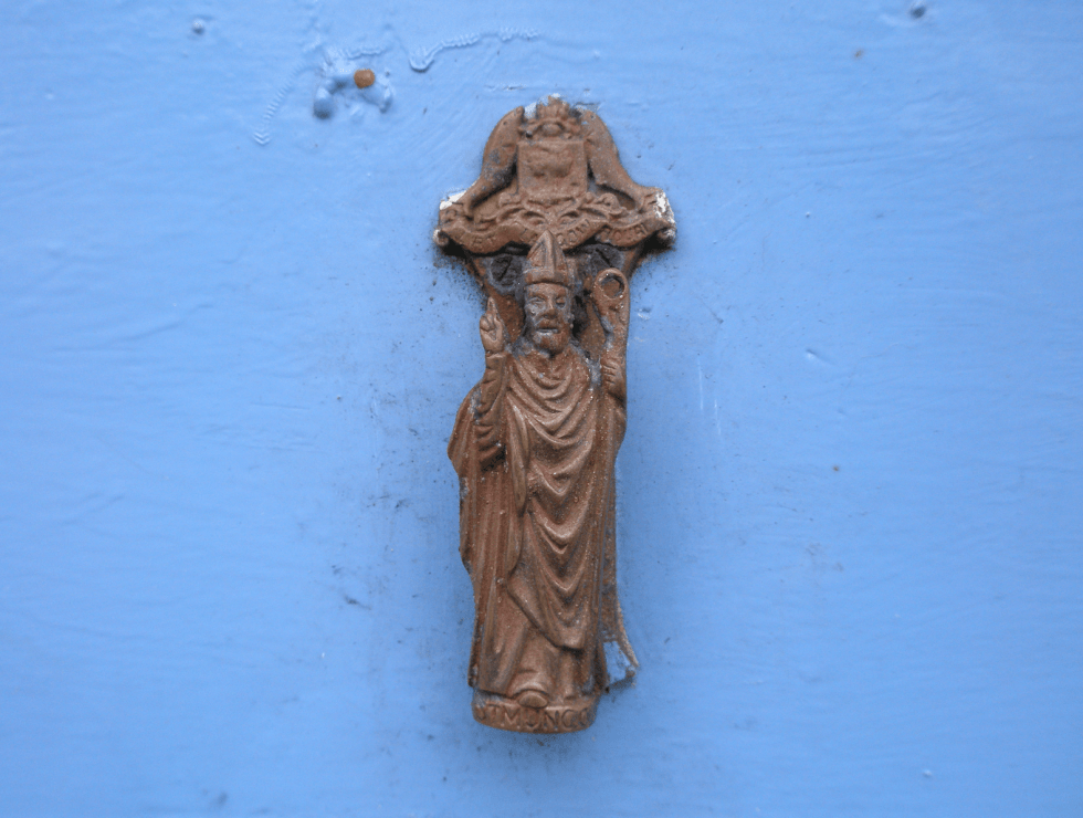St Mungo door knocker, Easdale Island