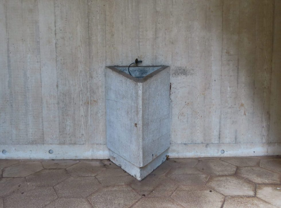 Clifton Cathedral - concrete bin