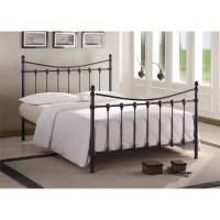 Florida Black Metal Bed Frame - King Size 5ft - Free Next ...