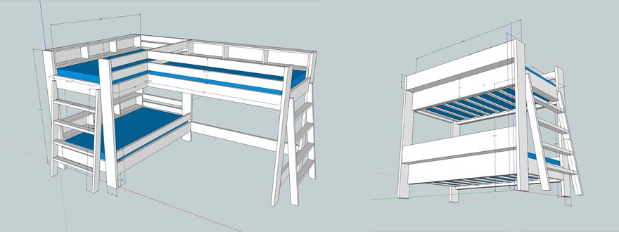 How To Make Bunk Beds   Part 1