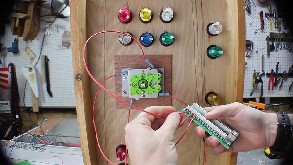 how to make a raspberry pi arcade no programming i like wire the joysticks and all buttons to relevant terminal on ipac