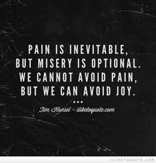 Quote About Pain And Love