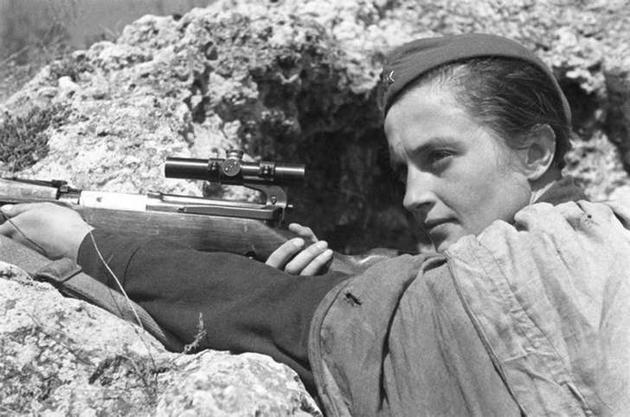 Lyudmila Pavlichenko Sniper