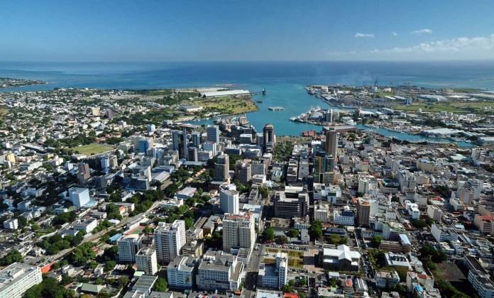 Port Louis, capital da ilha africana Marício