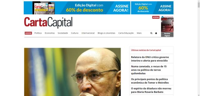 Carta Capital: fim dos anúncios de estatais