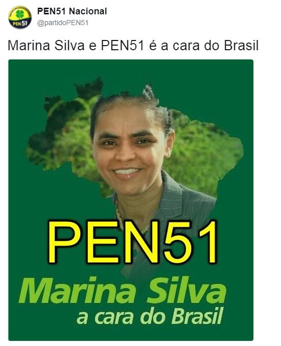 "Em 2013, PEN considerava Marina Silva ""a cara do Brasil"""