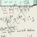 Matematik karmasik sayilar. Ustlu ifadeler ve mod 4 kurali