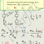 Lys2 2012 fizik 14.soru cozum