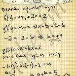Türev uygulamalarında eğim, fonksiyonun 1.turevine eşittir