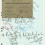 Integral soru çözüm