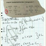Trigonometrik ifadeler sadelestirme soru cozum