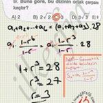 Geometrik dizi de terimlerin toplami soru çözüm.