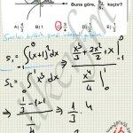 Once sınırlar sonra alan icon integral. Soru çözüm
