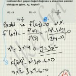 #lys 2013 matematik 42. soru çözüm