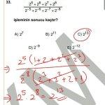 #kpss 2013 matematik 33.soru çözüm
