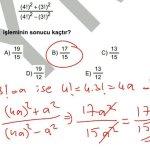 #kpss 2013 matematik 34. Soru çözüm