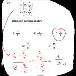 #kpss 2013 matematik 31. Soru çözüm