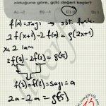 Sabit fonksiyon da x in her değeri icin görüntü kümesi eşittir. #ygs #lys matematik fem Yayınları fonksiyonlar