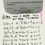 Hee x değeri için f(x) bulunarak görüntü kümesi oluşturulur. #ygs #lys matematik fem Yayınları fonksiyonlar