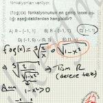 Fonksiyonlar da en geniş tanim kümesi soru çözüm #ygs #lys matematik fem Yayınları