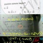 Köklü ifadeler de eşlenik #ygs #lys matematik fem Yayınları