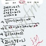 Köklü ifadeler, bazen kocaman sayıları harflendirip sonuca gidebilirsin. #ygs #lys matematik fem Yayınları
