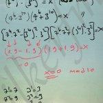 Modüler aritmetik soru çözüm